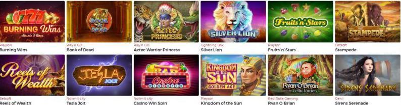 Lucky31 Casino-Spiele