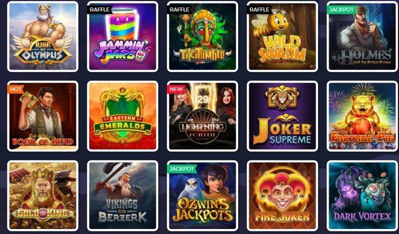 Lucky8-Casino-Spiele